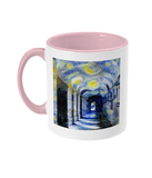 Corpus Christi College Oxford Alumni mug with pink handle