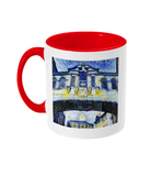 Bridge of Sighs Oxford Alumni mug with red handle