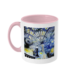 Christ Church College Oxford Alumni Mug with pink handle