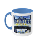 Bridge of Sighs Oxford Alumni mug with light blue handle