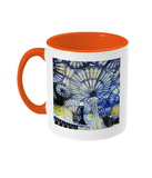 Christ Church College Oxford Alumni Mug with orange handle