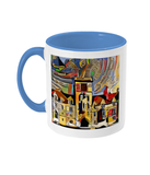 Balliol College Oxford Mug light blue