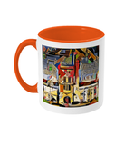 Mansfield college oxford mug orange