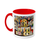 Green College Oxford Mug red