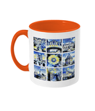 Oxford University Alumni Mug with orange handle