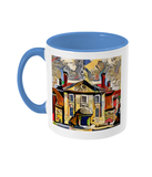 Lady Margaret Hall College Oxford Mug light blue