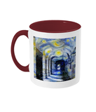 Corpus Christi College Oxford Alumni mug with burgundy handle