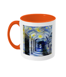 Corpus Christi College Oxford Alumni mug with orange handle