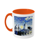 Sheldonian Oxford Alumni Mug with orange handle