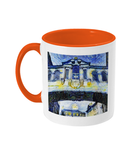 Bridge of Sighs Oxford Alumni mug with orange handle