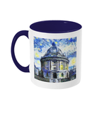 Radcliffe Camera Oxford Alumni Mug with navy blue handle