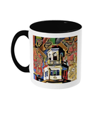 Harris Manchester College Oxford mug black
