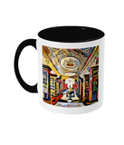 Queens college oxford library mug black