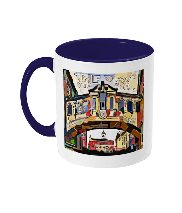 Oxford art designer mug