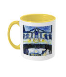 Bridge of Sighs Oxford Alumni mug with yellow handle