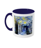 Corpus Christi College Oxford Alumni mug with navy blue handle