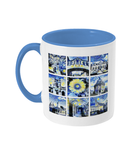 Oxford University Alumni Mug with light blue handle