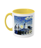 Sheldonian Oxford Alumni Mug with yellow handle