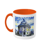 Radcliffe Camera Oxford Alumni Mug with orange handle