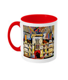 Wadham College Oxford mug red