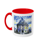 Radcliffe Camera Oxford Alumni Mug with red handle