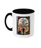 Queens College Oxford Mug with black handle