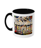 Humanities Oxford College Mug with black handle