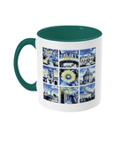Oxford University Alumni Mug with green handle