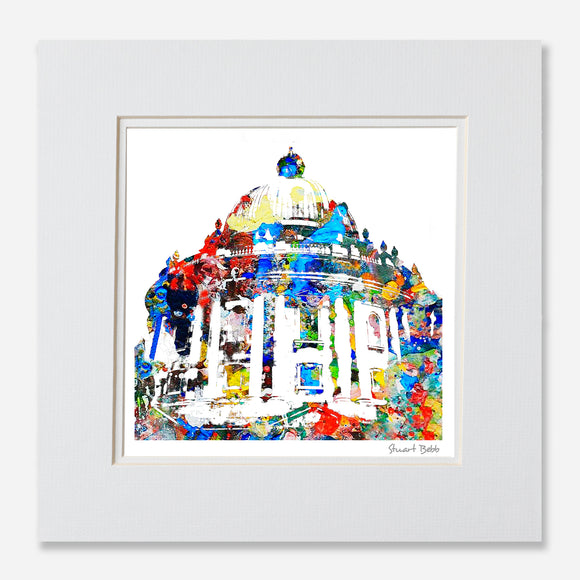 Avant-Garde art Print Radcliffe Camera Oxford