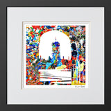 Avant-Garde Art Print Christ Church College Oxford