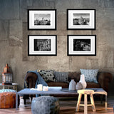 B&W art prints Oxford colleges