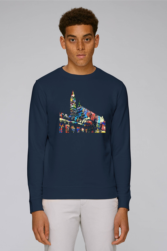 Balliol College Oxford navy sweatshirt