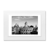 B&W Print of Spires of Oxford