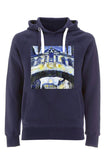 Hertford College Bridge of Sighs Oxford unisex navy organic cotton hoodie