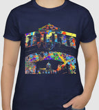 Oxford University tshirt Bridge of Sighs Navy