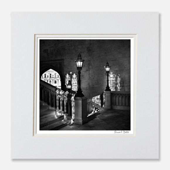 B&W Oxford Harry Potter print
