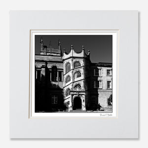 B&W Print Hertford College Oxford