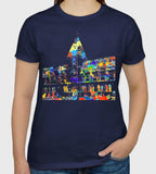 Oxford Natural History Museum navy T-shirt