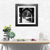Black and white fine art print New College Oxford