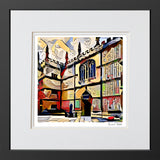 Contemporary Art Print Bodleian Library Oxford