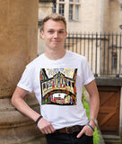 Oxford Souvenir t-shirt with Bridge of Sighs contemporary art