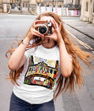 Bridge of Sighs Oxford Contemporary art t-shirt