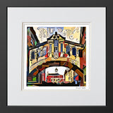 Contemporary Art Print Bridge of Sighs - SALE PRINTS