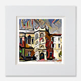 Art Print Oxford Hertford College