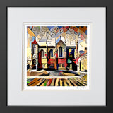 Contemporary Art Print Keble College Oxford