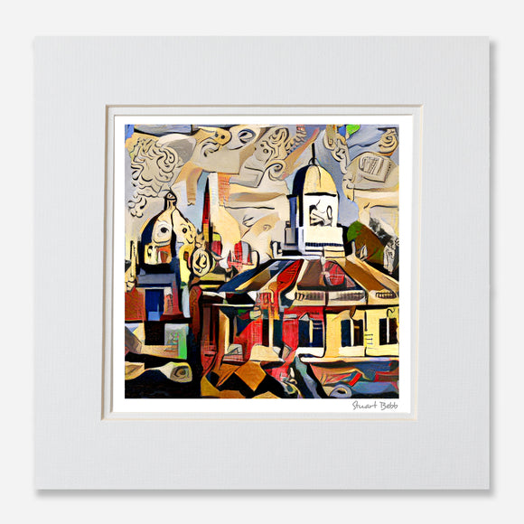 Art print Sheldonian Oxford