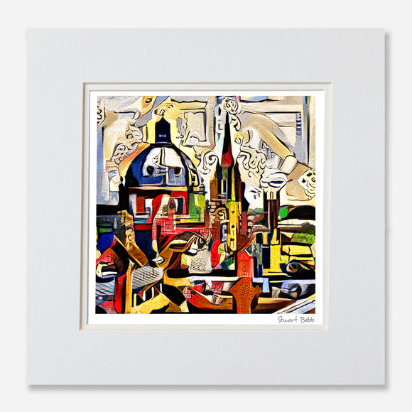Contemporary art Print of Oxford