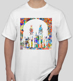 Oxford T-shirt All Souls College - White
