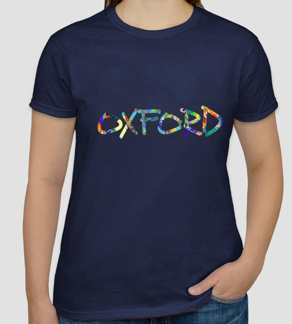 Oxford tshirt navy