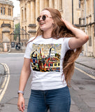 Sheldonian Spires Oxford Contemporary t-shirt